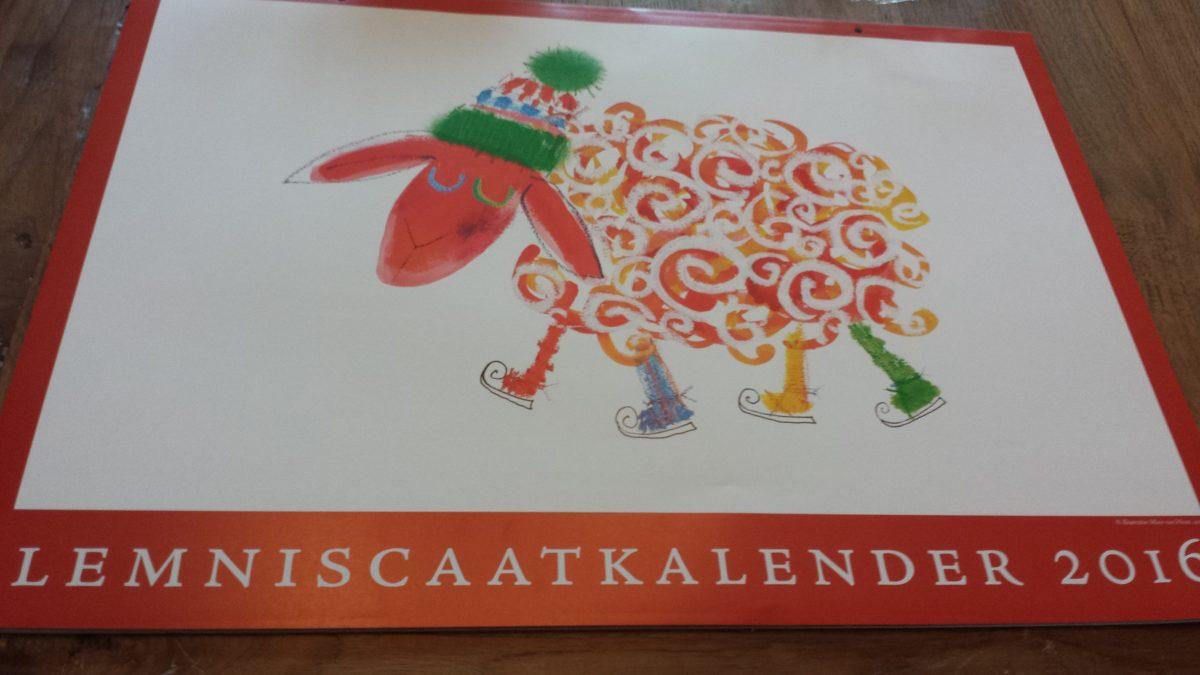 Lemniscaatkalender met korting