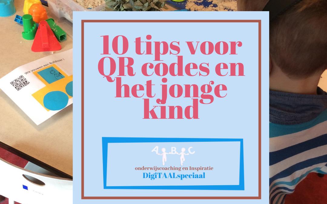 10 tips voor de QRcode bij het jonge kind!