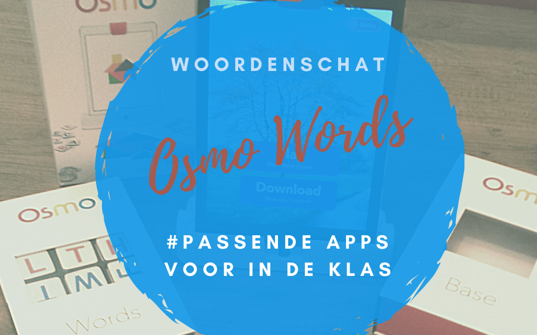 Play My Osmo Words met kleuters