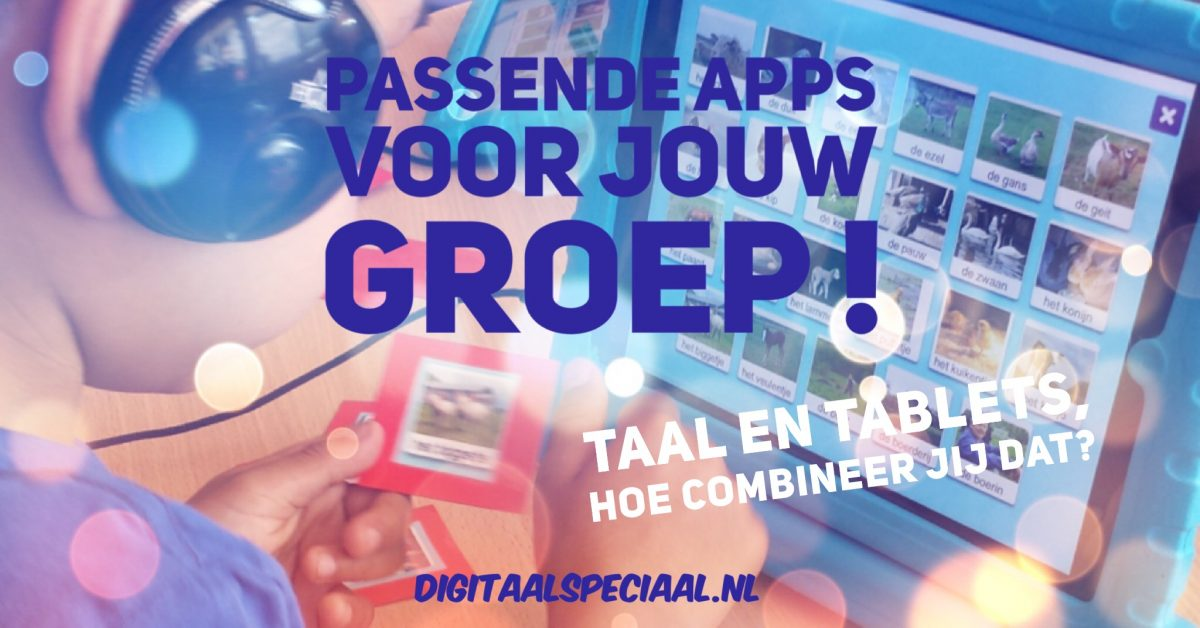 workshop Taal en Tablets in de onderbouw