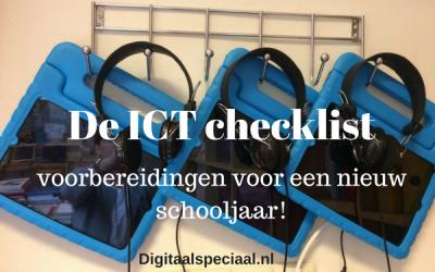 Handig een ICT-checklist!