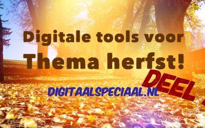 Digitale tools voor de herfst,  deel 2