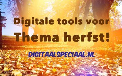 Digitale tools voor de herfst