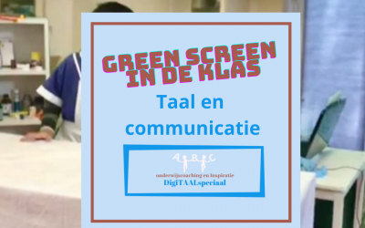 Greenscreen in de klas!