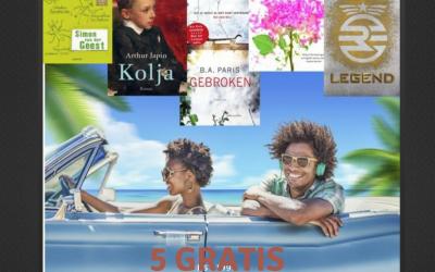 Gratis luisterboeken in de vakantie