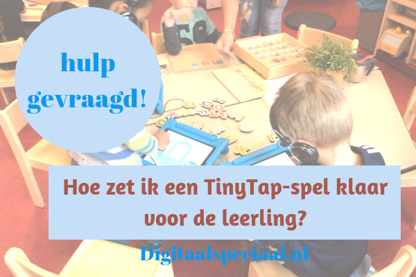 Tiny tap in de klas