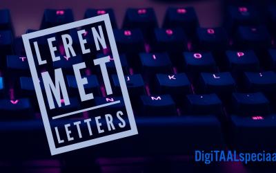 Digitaal aan de slag met klanken en letters