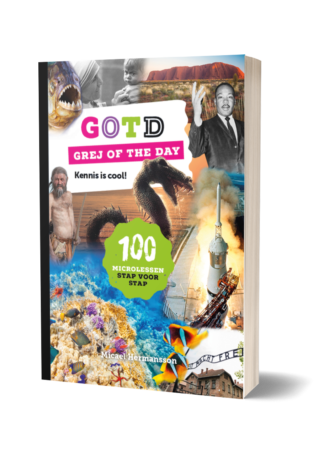 Het boek GOTD Kennis is cool