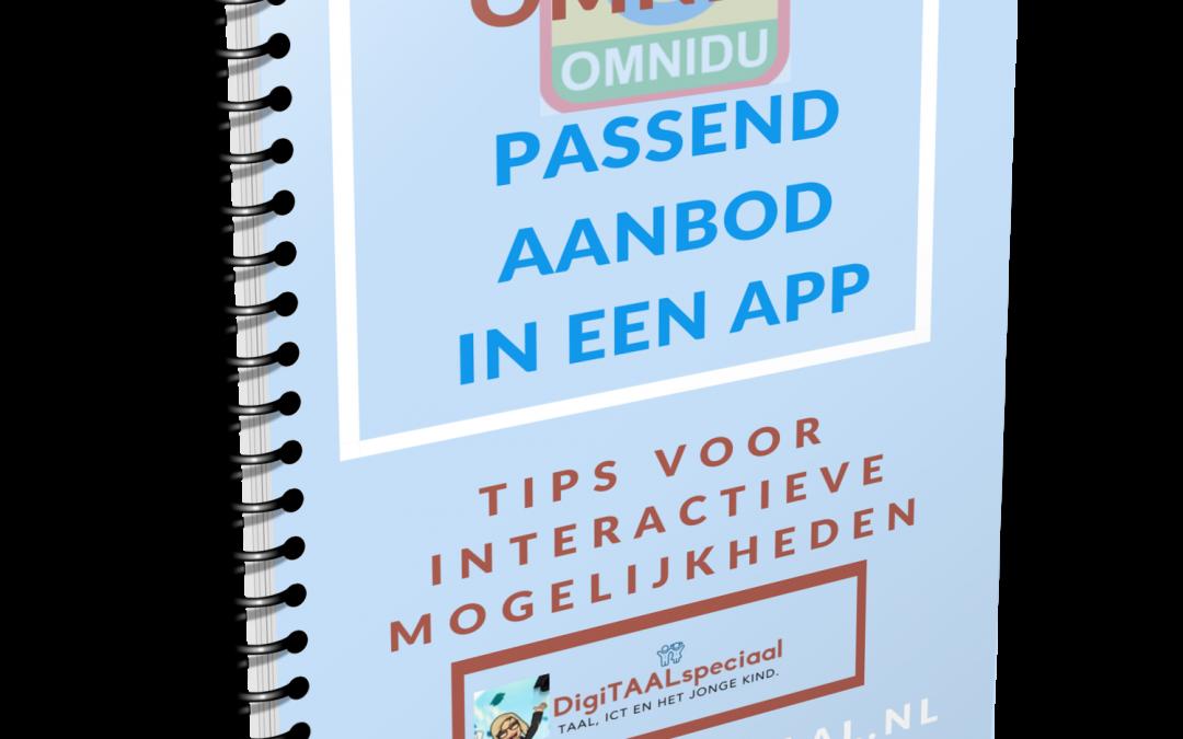 Omnidu , passend aanbod in een app