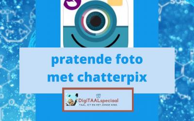 Een pratende foto met Chatterpix