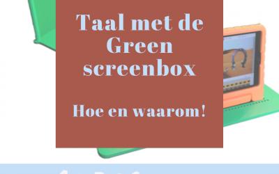 Taal met de Greenscreenbox