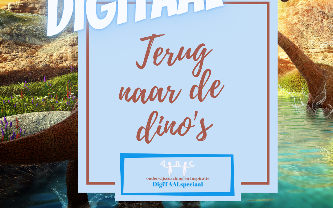 10 Digitale tools met het dino thema
