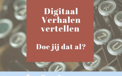 10 Tips voor een digitaal verhaal