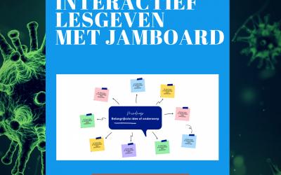 Jamboard, digitaal discussiëren