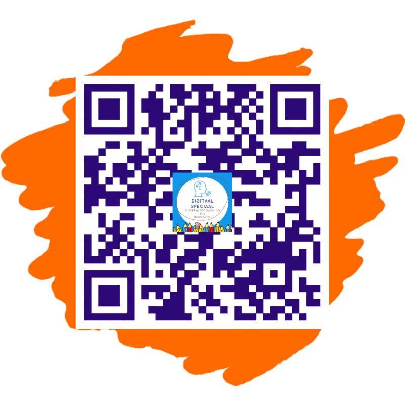 Qr code digitaalspeciaal met log