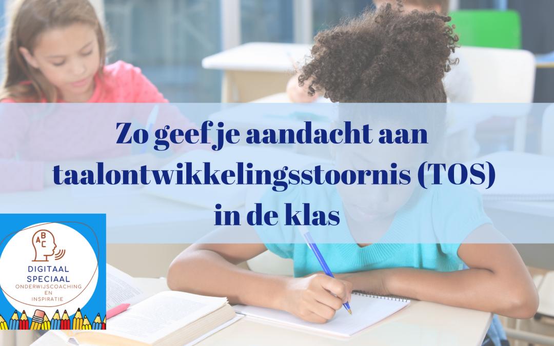 Gastblog Anja Droog over TOS in de klas